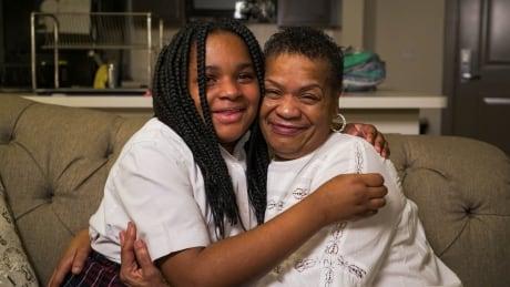 Tonya Carter and granddaughter Akirah