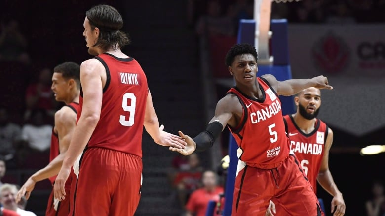 4b0dbd803be RJ Barrett (5) is just one of the many names to look out for on Canada's  long list of young rising players. (Justin Tang/The Canadian Press)
