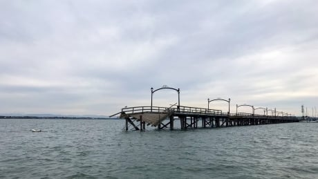 Would you watch a stuntman jump a motorcycle over White Rock Pier?