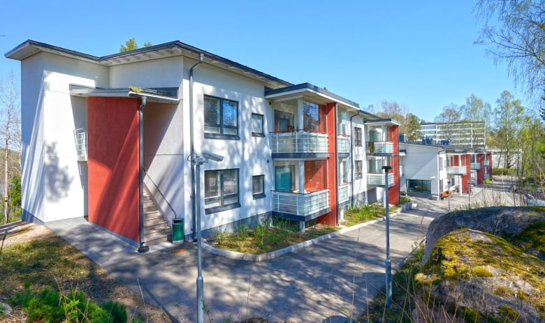 homes for the homeless in Finland