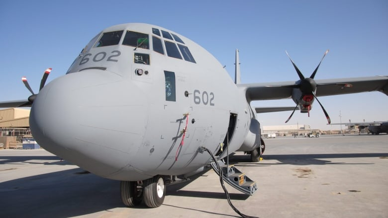 Canadian military cargo plane finally ready for UN operations