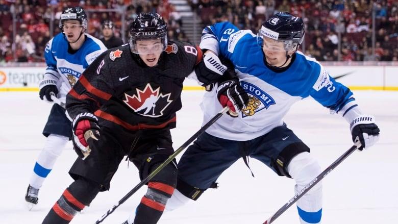 Finland Defeats Canada In World Juniors Tune Up Cbc Sports