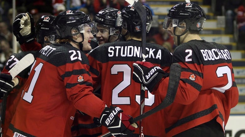 Canada The Defending World Junior Champions Begin Play Wednesday Against Denmark And Following Day Versus Switzerland Before Facing A Czech Republic