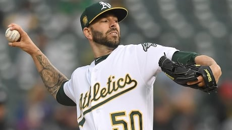 Athletics re-sign Fiers to lead expected young starting rotation