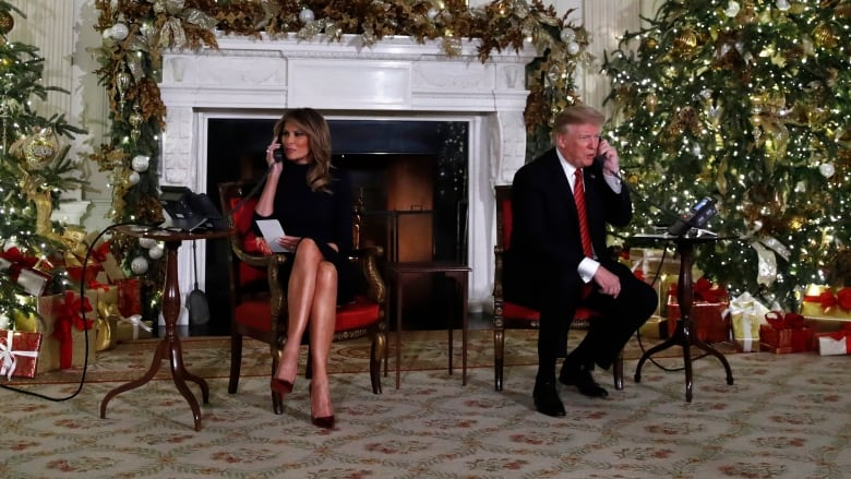 Trump tells boy that believing in Santa at 7 is 'marginal'