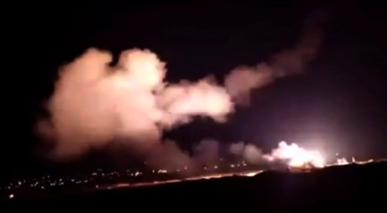 Israel strikes weapons depot near Damascus, says Syria