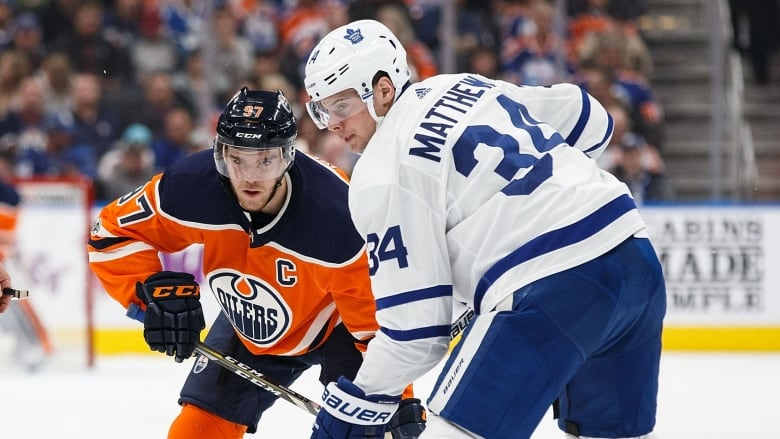 brand new 34b17 8a028 Leafs' Matthews, Oilers' McDavid among captains for NHL's ...