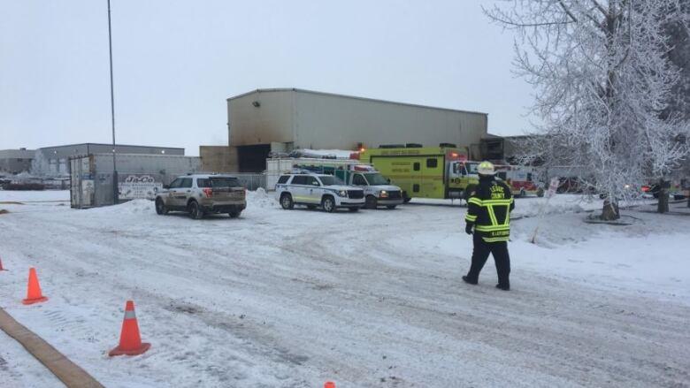 OHS gets inside Nisku welding shop after deadly blast | CBC News