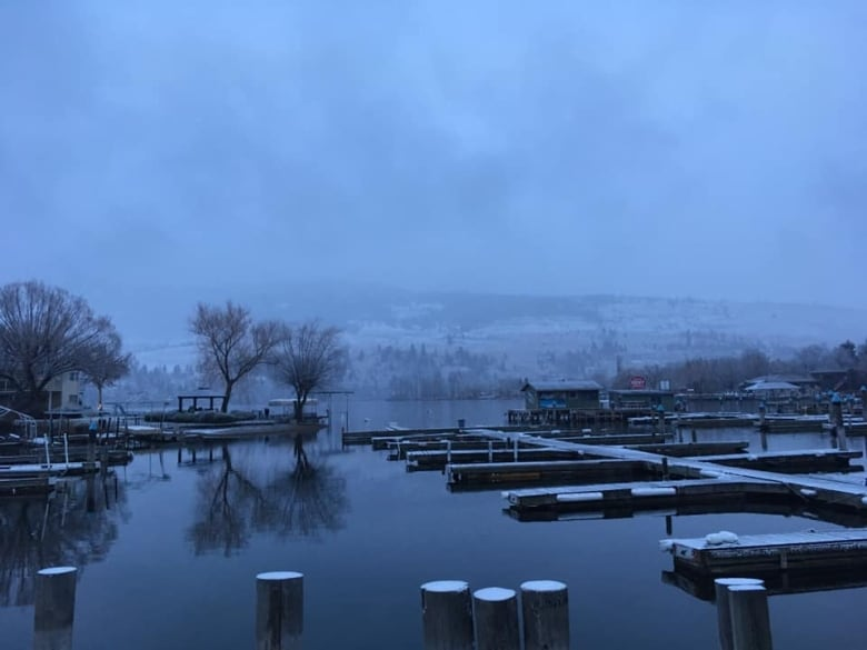 Here's what British Columbia looked like sprinkled with snow