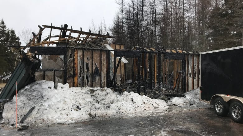 firefighters relieved nobody inside as st nicholas home burns down