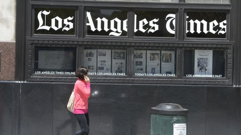 cyberattack disrupts los angeles times other major u s newspapers