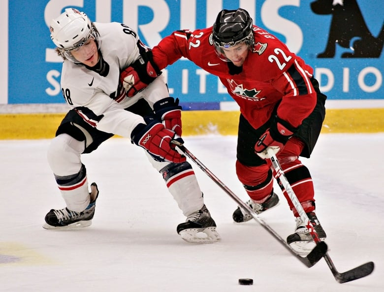 Canadian Forward Dan Bertram Played In Two World Junior Hockey Championships Winning Gold Both 2006 And 2007 I Was More Nervous The Second Time Around