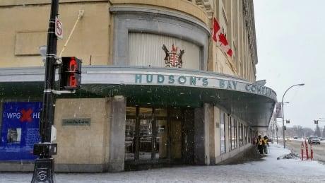 Hudson's Bay Winnipeg downtown
