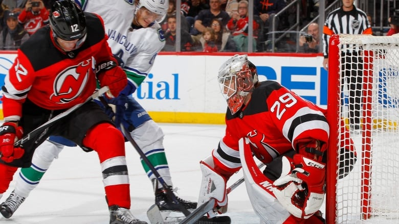 Rookie goalie Mackenzie Blackwood stopped 25 shots to earn his second  straight shutout as the New Jersey Devils defeated the Vancouver Canucks  4-0 on Monday ... fe33eb7eb