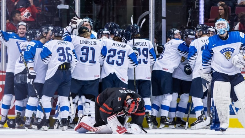 Canada S Medal Hopes Shattered As Finns Fight Back To Win In Ot