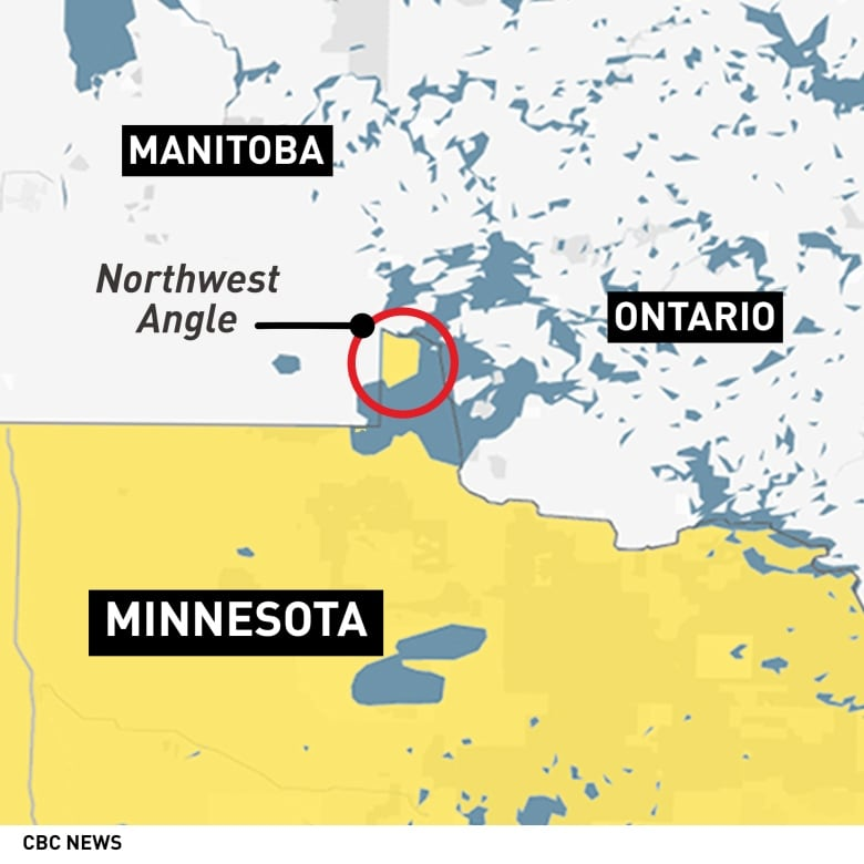Surrounded on 3 sides by Canada, U.S. residents of Northwest Angle ...