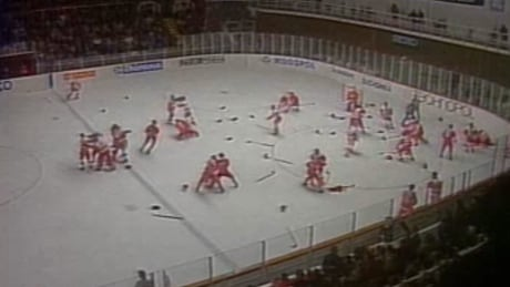 1987 hockey brawl