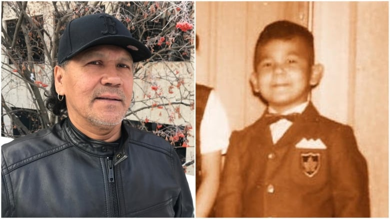 Rod Belanger now and when he was a child one of many Indigenous people who were adopted or fostered by white families
