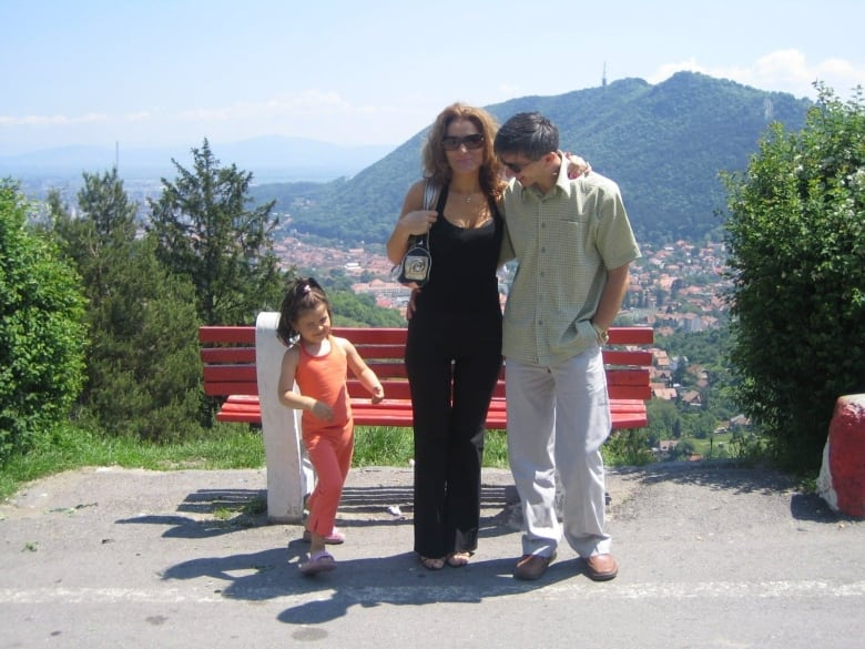 Image result for andreescu with parents