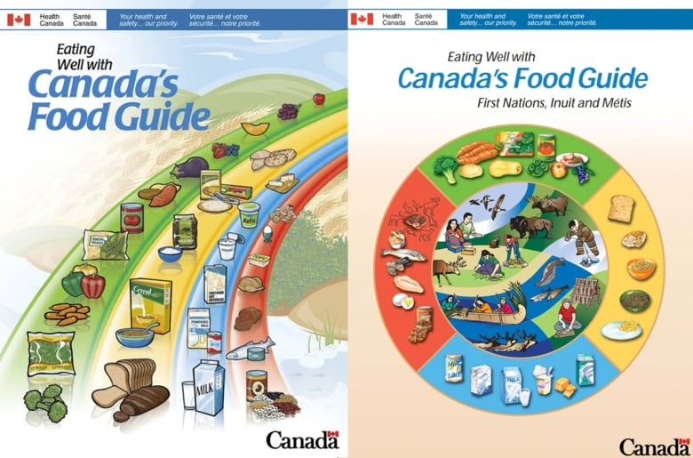 Here's what food guides around the world look like | CBC News
