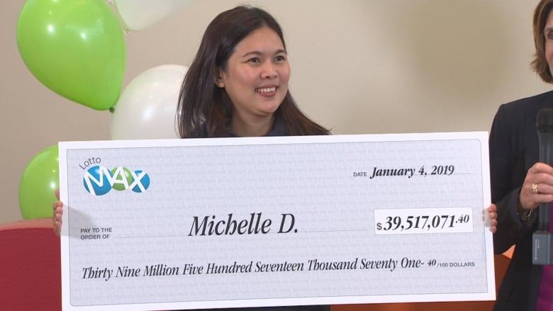 'Amazing blessing': $39.5M Lotto Max winner to continue playing the lottery