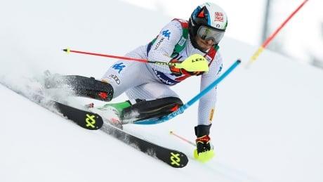 men slalom