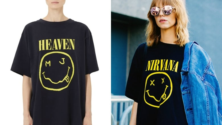 timeless design 742ef 31254 Nirvana sues Marc Jacobs over iconic smiley face logo | CBC ...