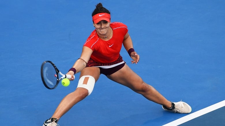 27a117705 Canada s Bianca Andreescu is one step closer to reaching the Australian  Open main draw after winning another qualifying match. (Chris Symes The  Associated ...