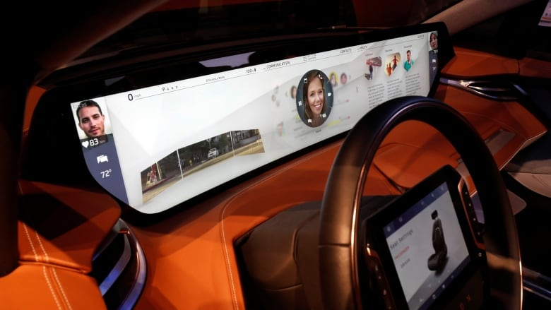 Biggest trend in new car technology? Super-sized screens