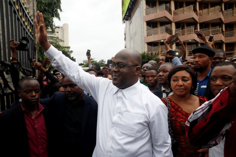 Tshisekedi is leader of the Union for Democracy and Social Progress