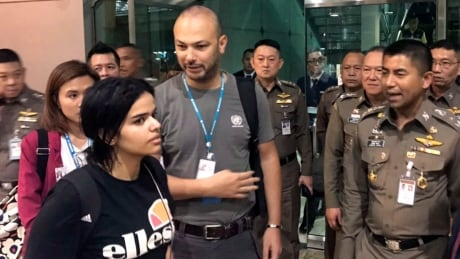 Canada willing to accept Saudi woman seeking asylum, Thai police say