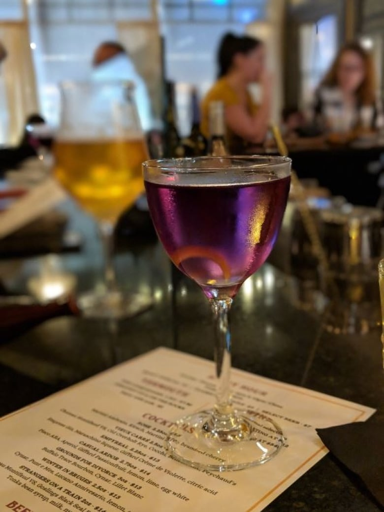 'Fantastique' dishes and drinks at French restaurant Partake