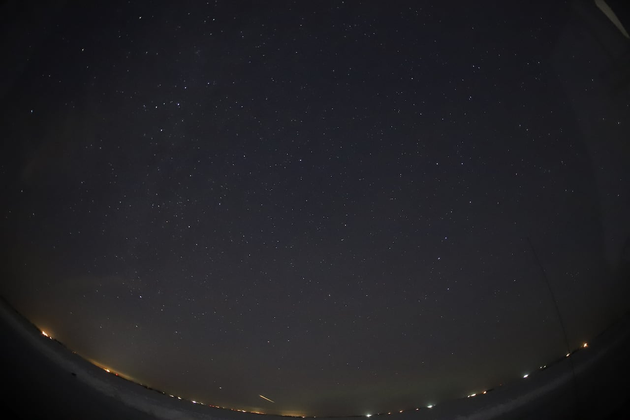 Fireball lights up night sky over Edmonton   CBC News