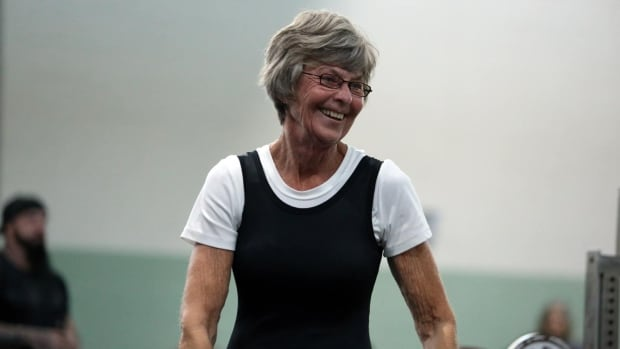 70-year-old Crossfitter loves to 'lift weights, get stronger'