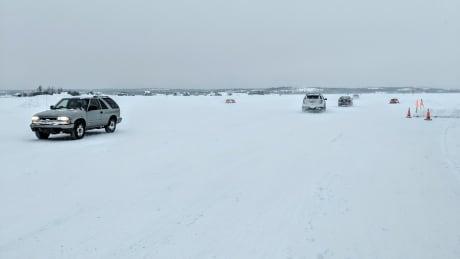 Yellowknife Detah ice road