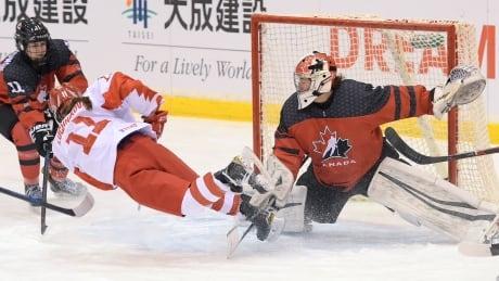 Canada Russia U18 Women's Hockey