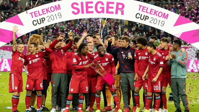huge selection of 15a8a 88ebe Canadian teen Alphonso Davies a winner in his Bayern Munich ...
