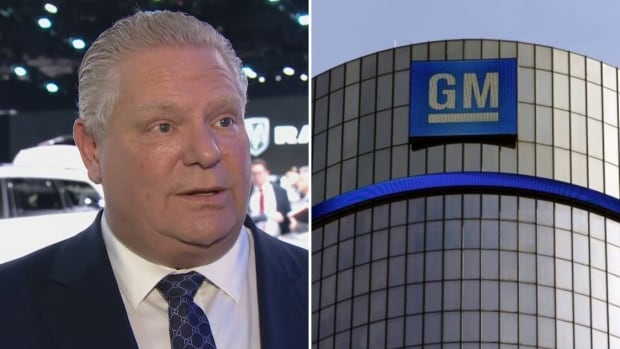 GM bringing high-tech expansion to southwestern Ontario, premier Ford says
