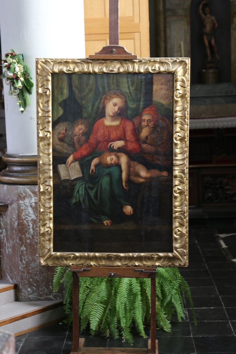Painting stolen from Belgian church days before appraisal might be a Michelangelo