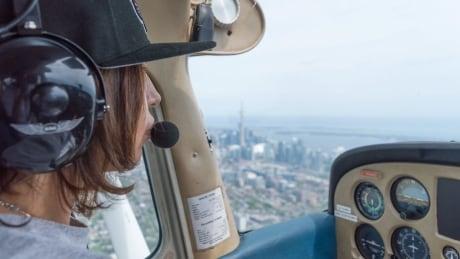 Up where she belongs: New Sask. pilot hopes to inspire future female Indigenous aviators