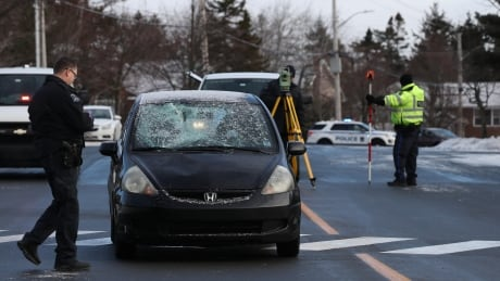 Crossing guard hit while helping people cross Clayton Park street