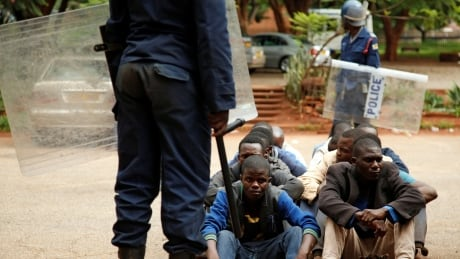 Fierce government crackdown on protests in Zimbabwe