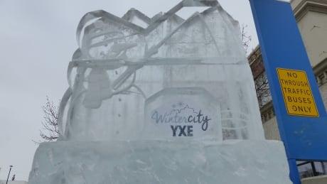 Sculpting a winter city: Saskatoon students design ice sculptures as part of WintercityYXE strategy