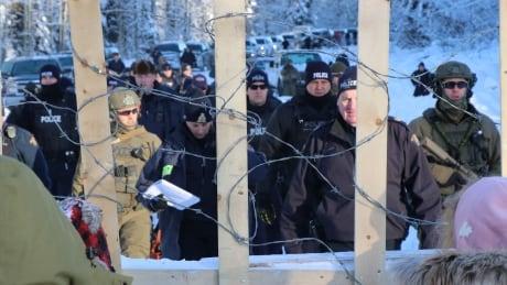 Gidimt'en checkpoint Jan 7