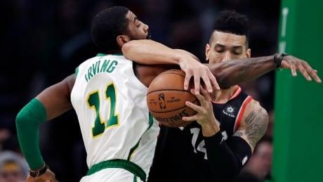 Irving leads the way as Celtics halt Raptors' 5-game win streak