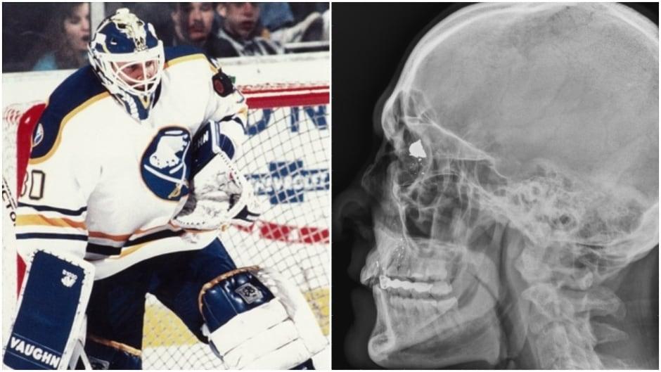 Guy Gets Hockey Jugular Cut