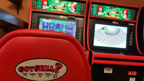 That's not a slot machine in your local bar, it's a game called Got Skill? And it's legal, for now
