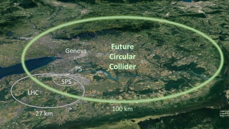 Large Hadron Collider's proposed replacement at CERN is really huge