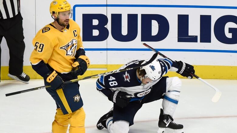 Predators' Ryan Johansen suspended 2 games for high-sticking