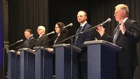 PC leadership candidates face final debate, end of membership drive